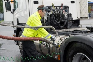Scania CNG fuelling