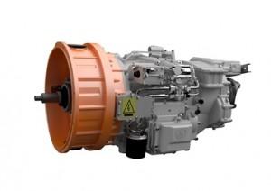 Scania hybrid transmission