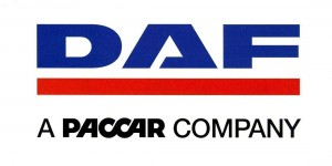 DAF LOGO and A PACCAR COMPANY