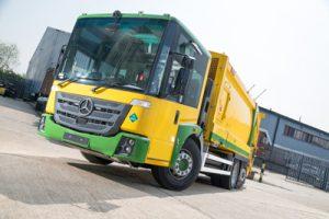 Fife dual fuel bin trucks