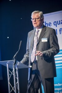 Steve Agg chaired the standard's first national conference at the NCC