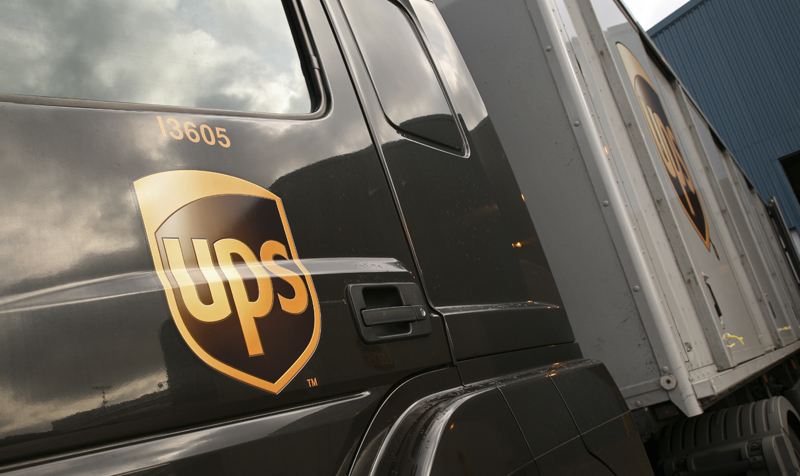 UPS fuel cell electric vehicle